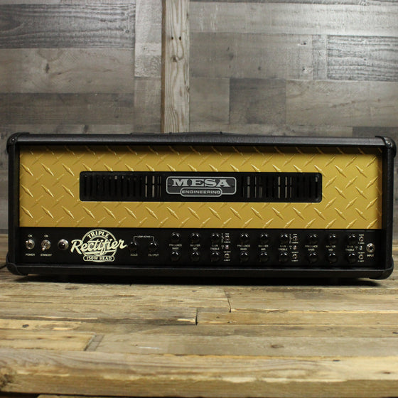 Mesa Boogie Limited Edition 50th Anniversary Triple Rectifier - Front
