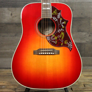 Gibson Hummingbird Acoustic Guitar Vintage Cherry Sunburst - Top