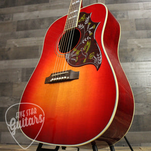 Gibson Hummingbird Acoustic Guitar Vintage Cherry Sunburst - Treble side