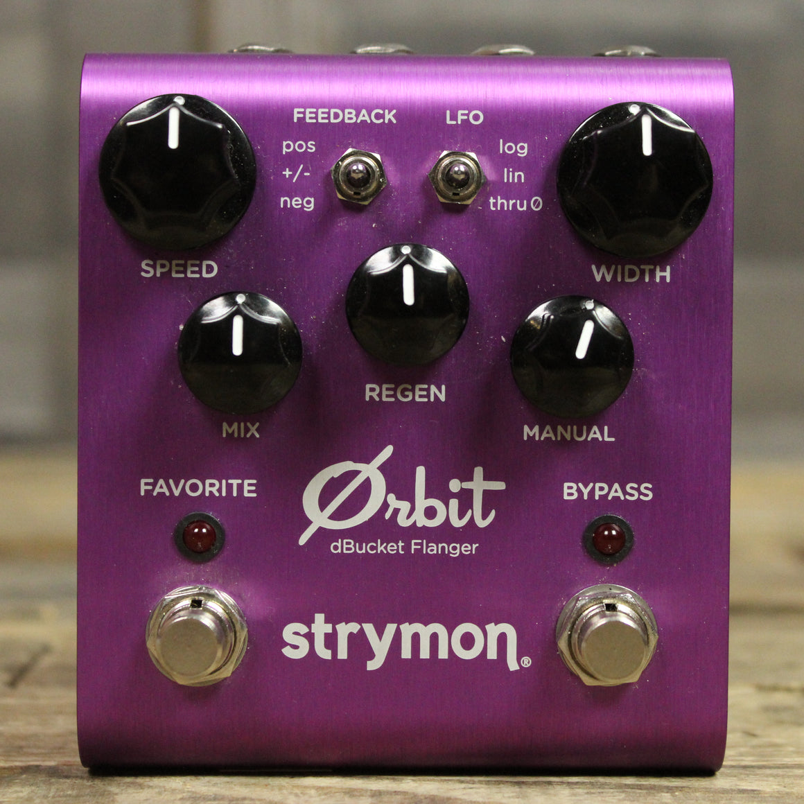 Pre-Owned Strymon Orbit Flanger