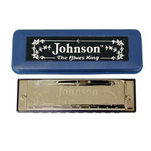 Johnson Blues King Harmonica C
