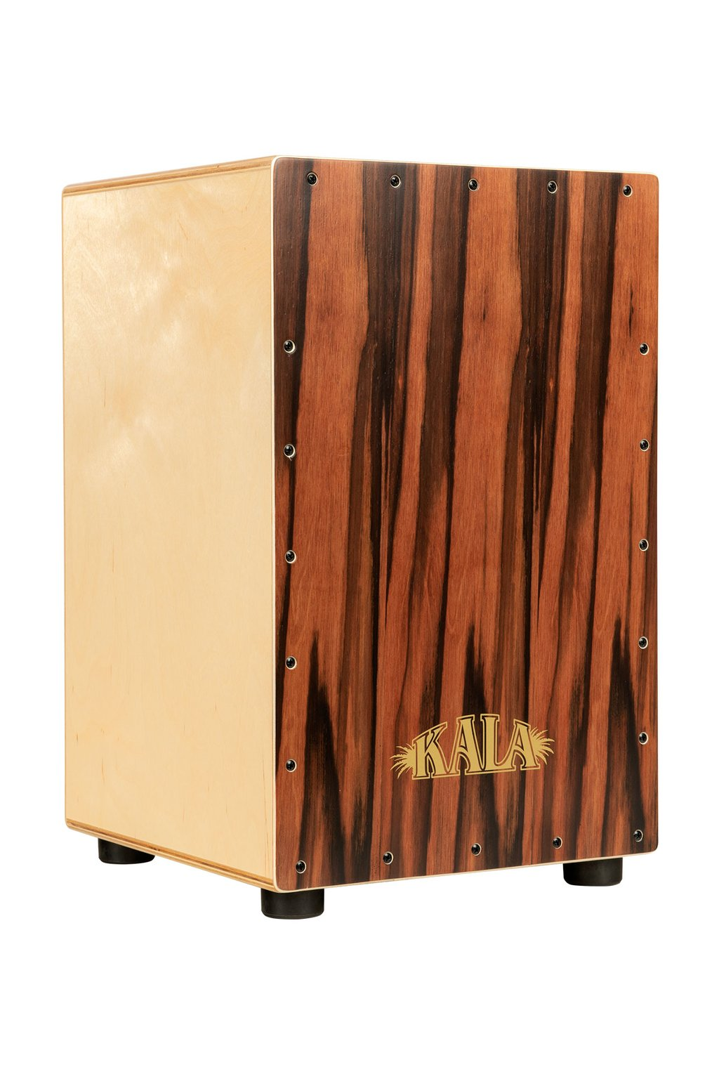 Kala Striped Ebony Cajon