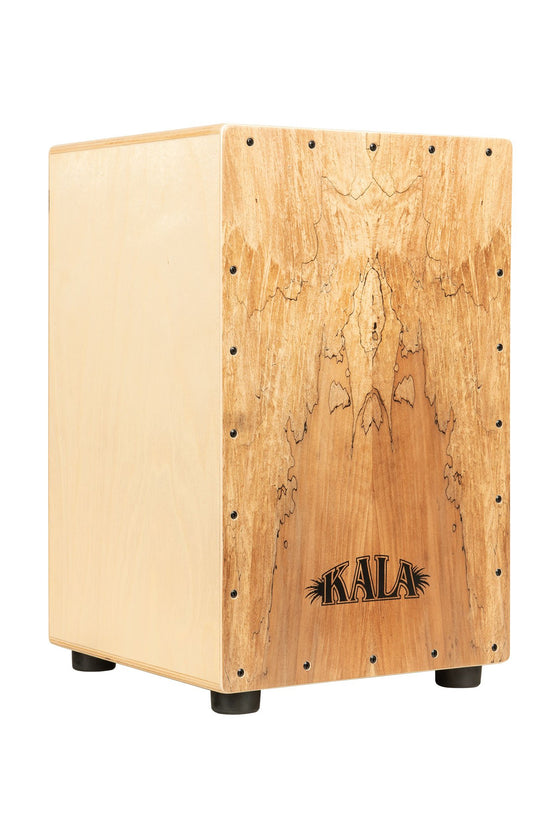 Kala Spalted Maple Cajon