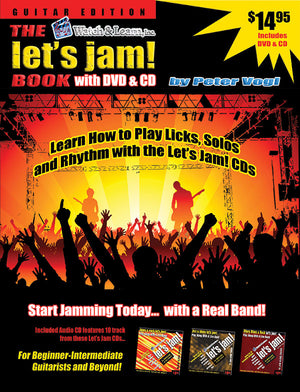Let's Jam Book w/ CD & DVD