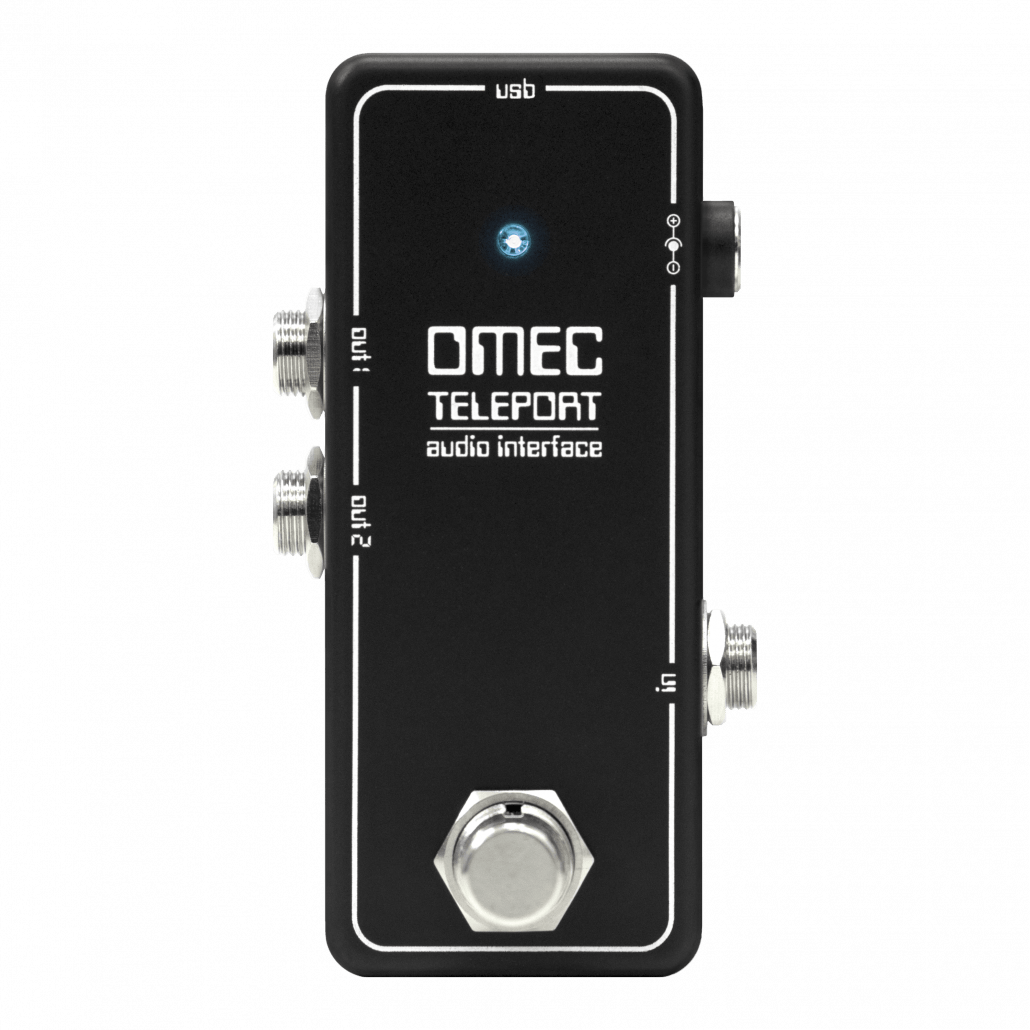 Orange OMEC Teleport Audio Interface Pedal