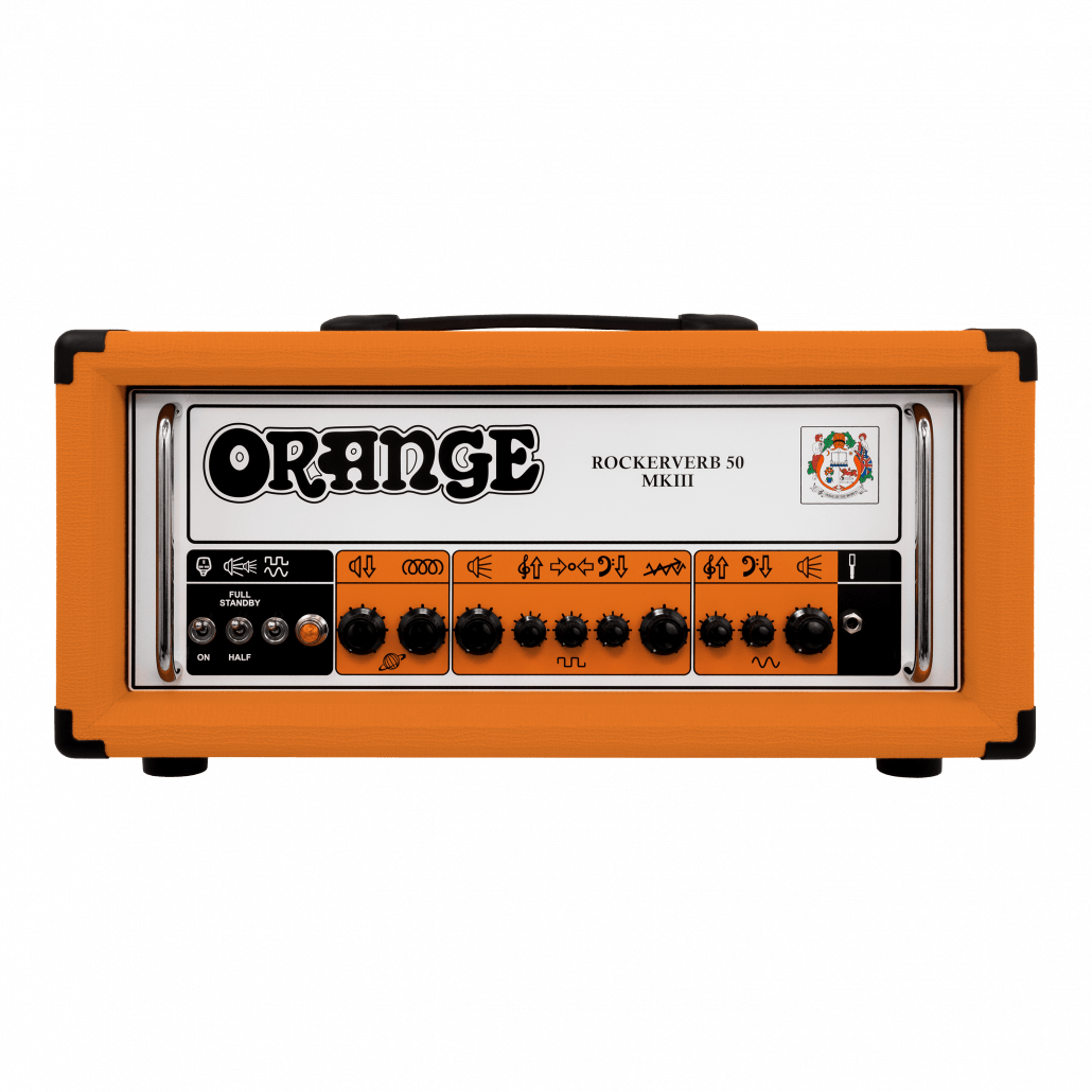 Orange Rockerverb 50 MKIII Head