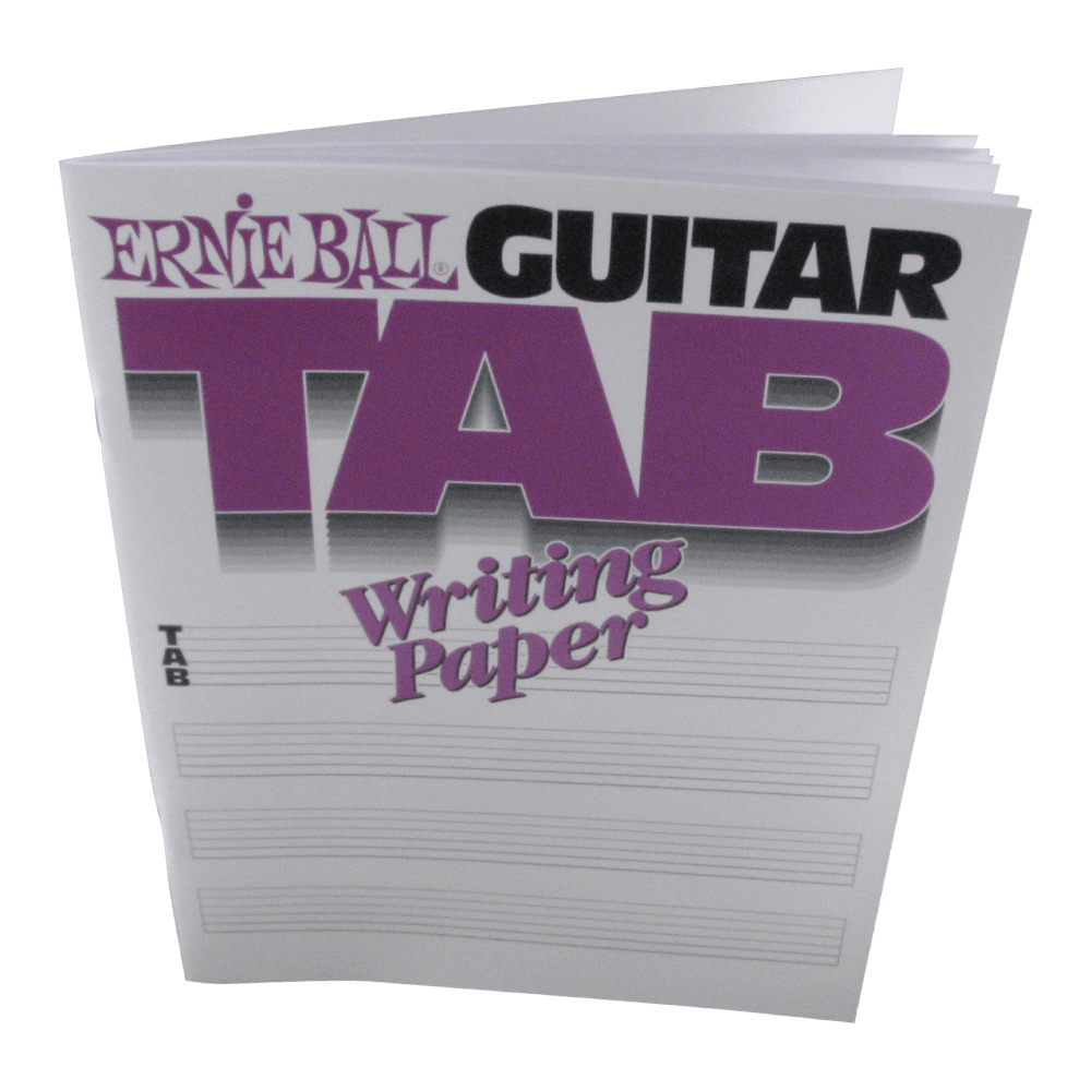 Ernie Ball Guitar Tab Paper Book