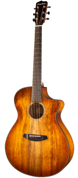 Breedlove Pursuit Exotic Concerto Prairie Burst CE Myrtlewood-Myrtlewood