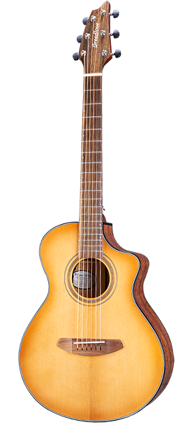 Breedlove Signature Companion Copper CE Torrefied European-African Mahogany