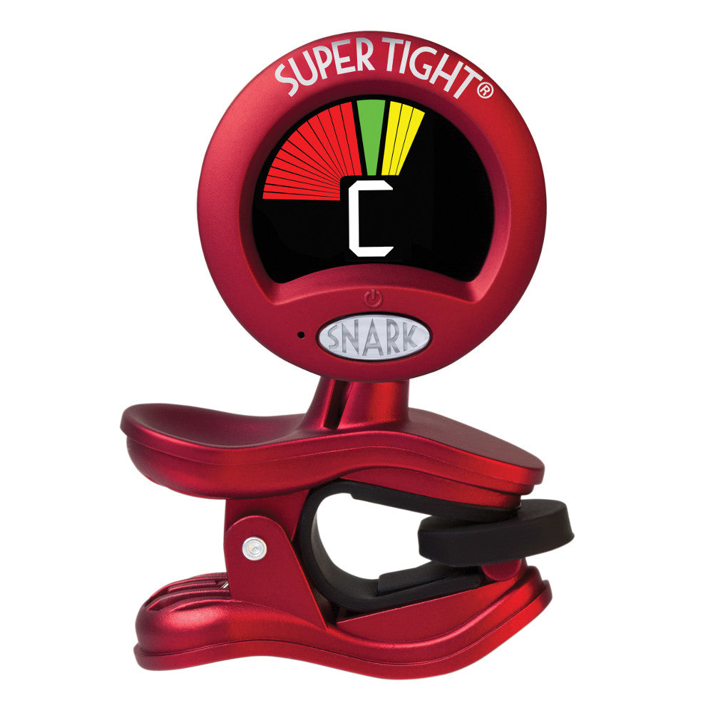 Snark ST-2 Super Tight Tuner Red