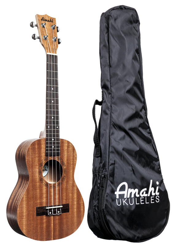Amahi UK120C Concert Ukulele with Bag