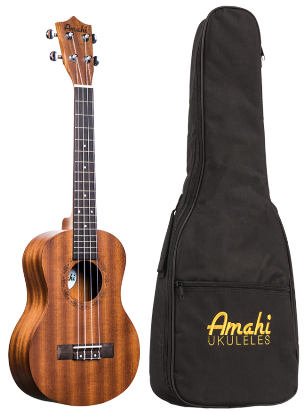 Amahi UK120T Tenor Ukulele with Bag