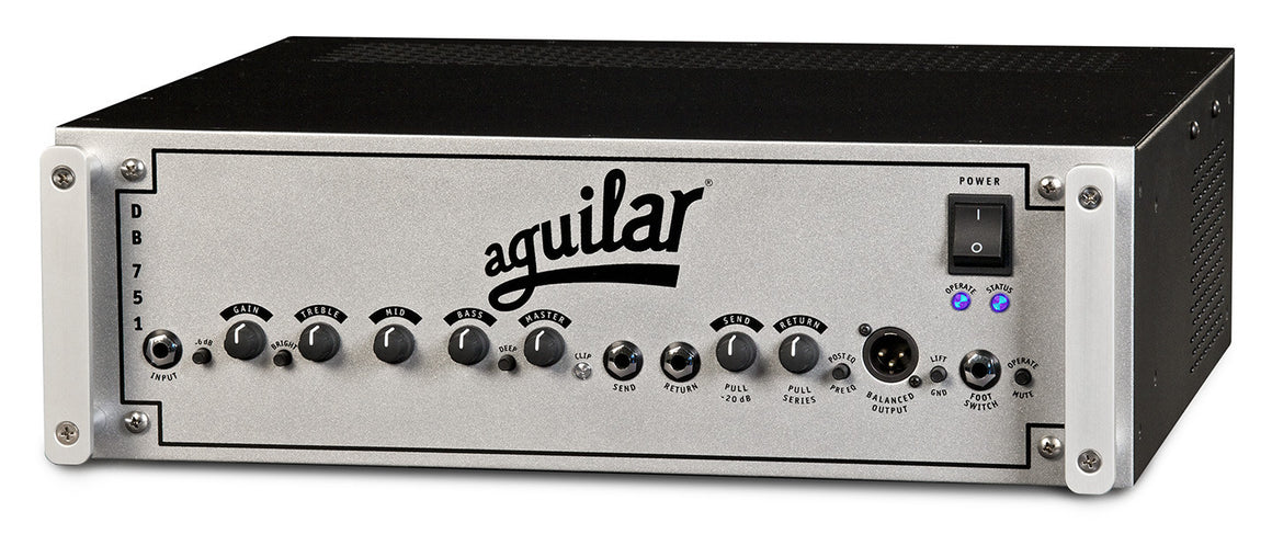 Aguilar DB 751 975W Hybrid Bass Head