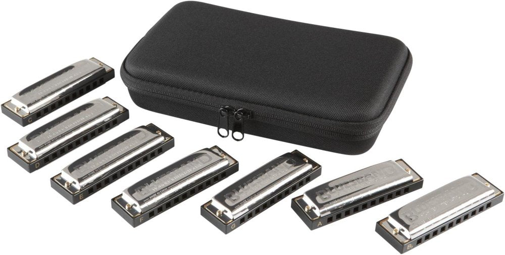 Hohner Bluesband 7 Pack