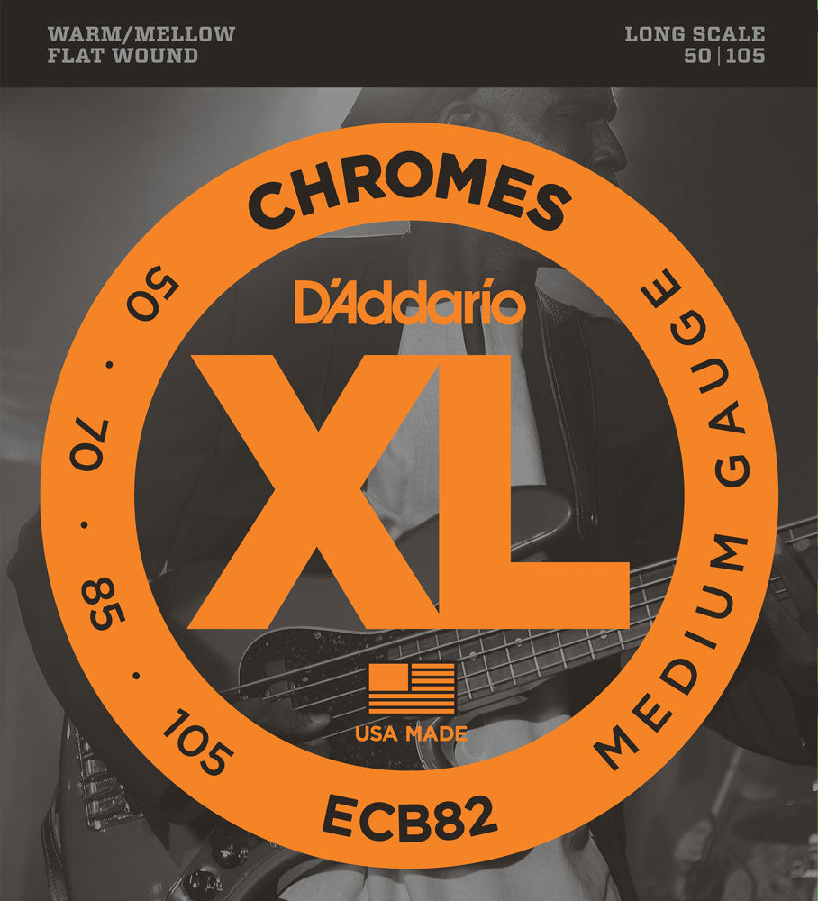 D'Addario ECB82 Flat Wound Bass Strings