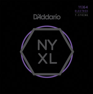 D'Addario NYXL1164 7 String Electric Guitar Strings