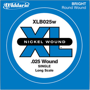 D'Addario XLB025W Bass Single