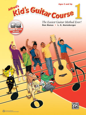 Kid's Guitar Course Book 1