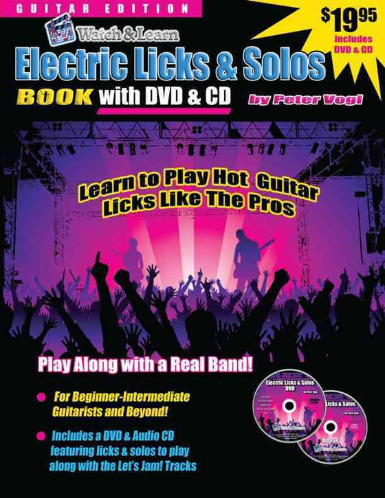 Electric Licks and Solos Book
