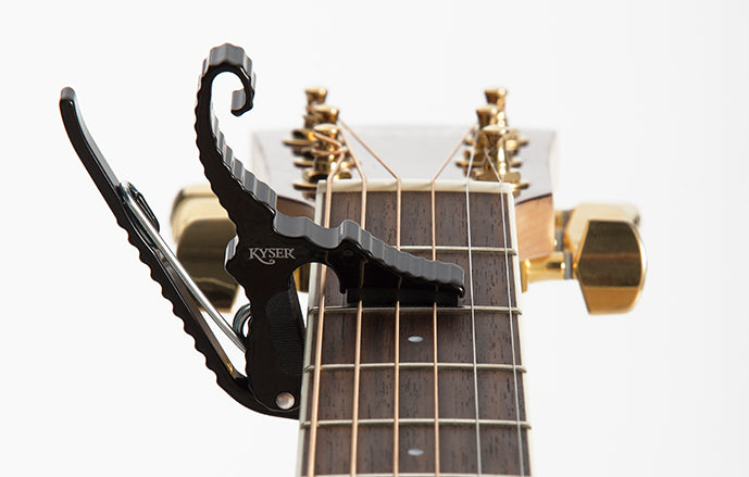 Kyser KG3B Short-Cut Capo Black