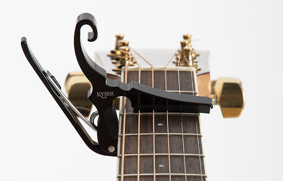 Kyser KGDB Drop D Black Capo
