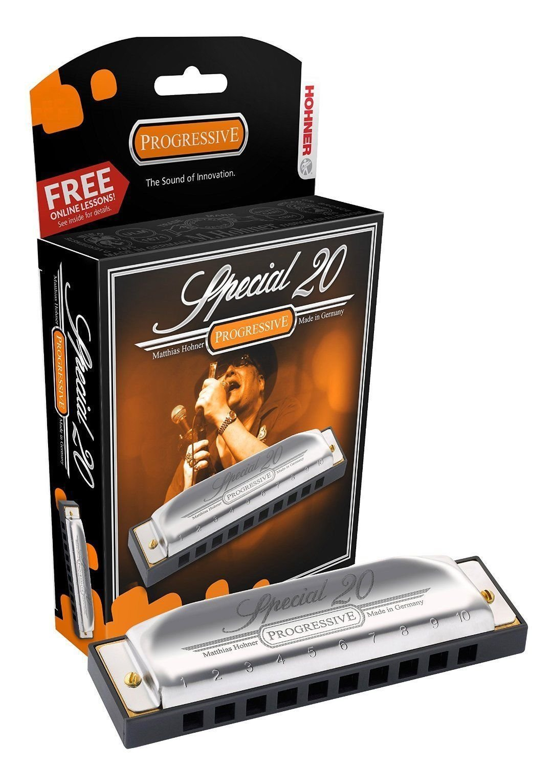 Hohner Special 20- Key of B