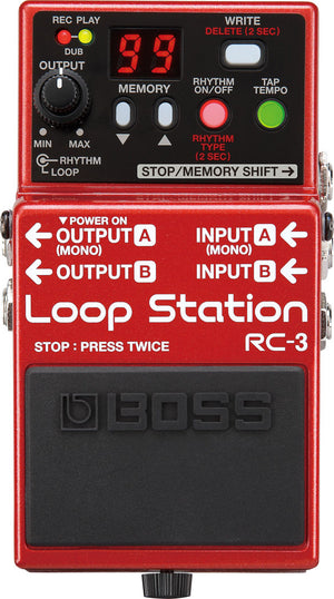 Boss RC-3 Looping Station
