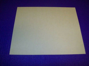 PG 0107-031 Clear PG w/Adhesive