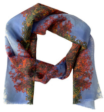 Algonquin Maples Oblong Scarf