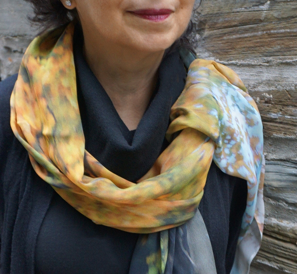 a1a5c49d4f3d Water Wood - Nature inspired silk scarves from Canada - great gift ...
