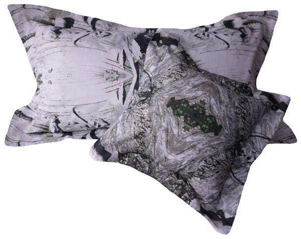 Grey Birch King Sized Pillow Sham