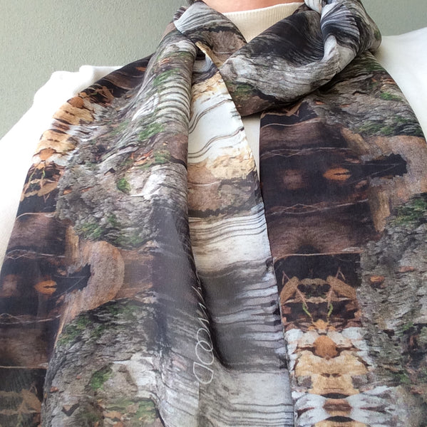 Birch Totem Long Scarf