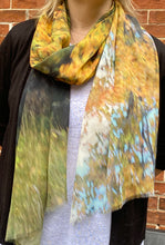 Autumn Walk Silk Georgette Wrap
