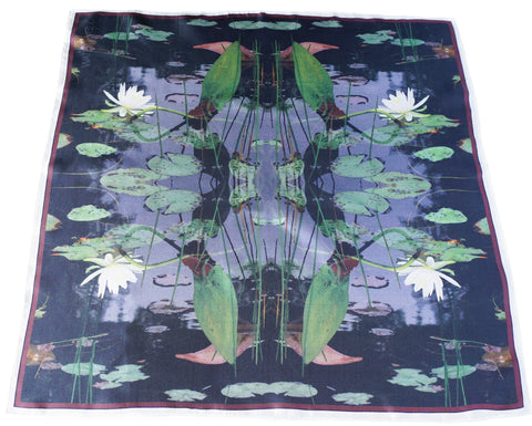 Muskoka Waterlilies Neckerchief