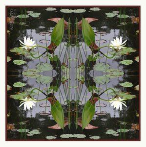 Waterlilies Neckerchief