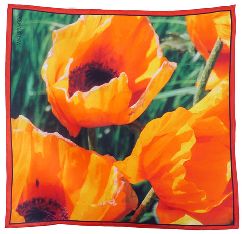 Oriental Poppies Neckerchief