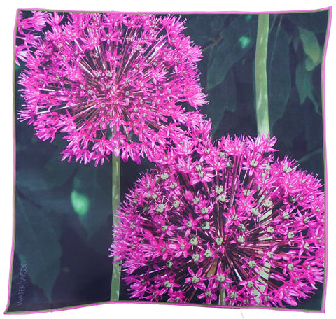 Purple Allium Neckerchief