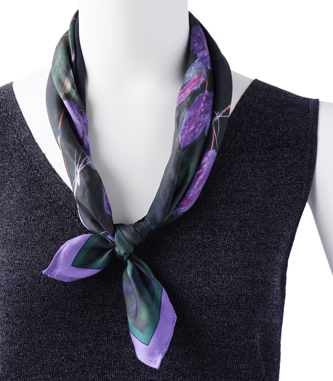 Purple Pondweed Neckerchief