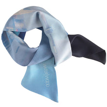 Skyline Reflections Oblong Scarf