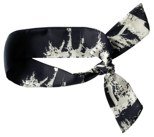 White Pine Black Twilly Scarf