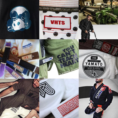 9 (plus one) of Our Favorite Jiu Jitsu Gi Brands
