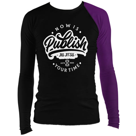 Faixa Roxa  - Publish Jiu Jitsu Rash Guard - by Nine Lives - Nine Lives Jiu Jitsu