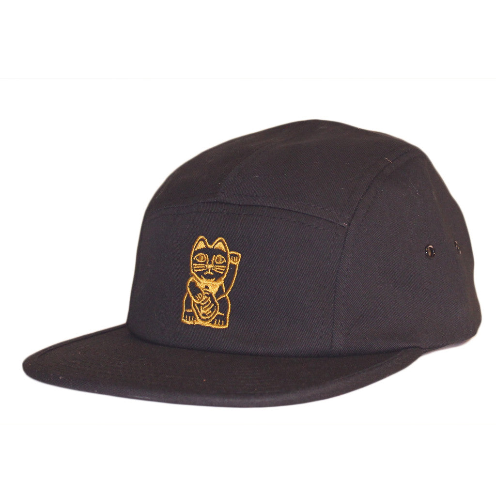 Cat Camp Cap - Black