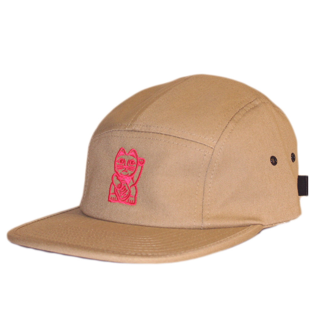 Cat Camp Cap - Tan