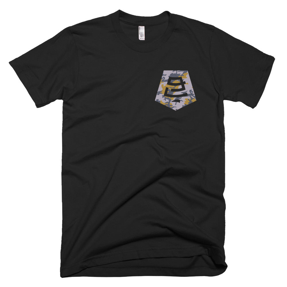 Badge Camo Tee - Black