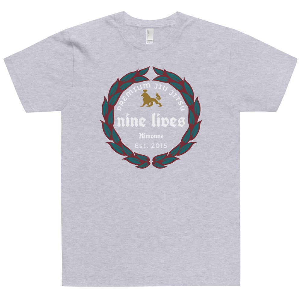 Ice Cold Jiu Jitsu Tee - Grey - Nine Lives Jiu Jitsu