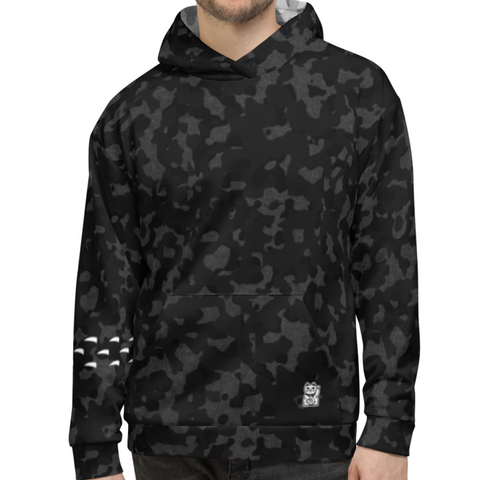 Claw Hoodie - Camo Black - Nine Lives Jiu Jitsu