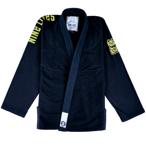 Classic - Black and Gold - Nine Lives Jiu Jitsu