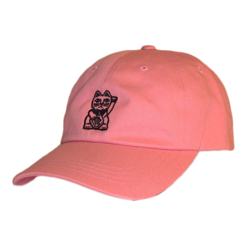 Cat Dad Hat - Pink - Nine Lives Jiu Jitsu