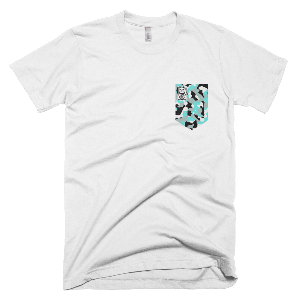 Inverted Covert Tee White - Nine Lives Jiu Jitsu